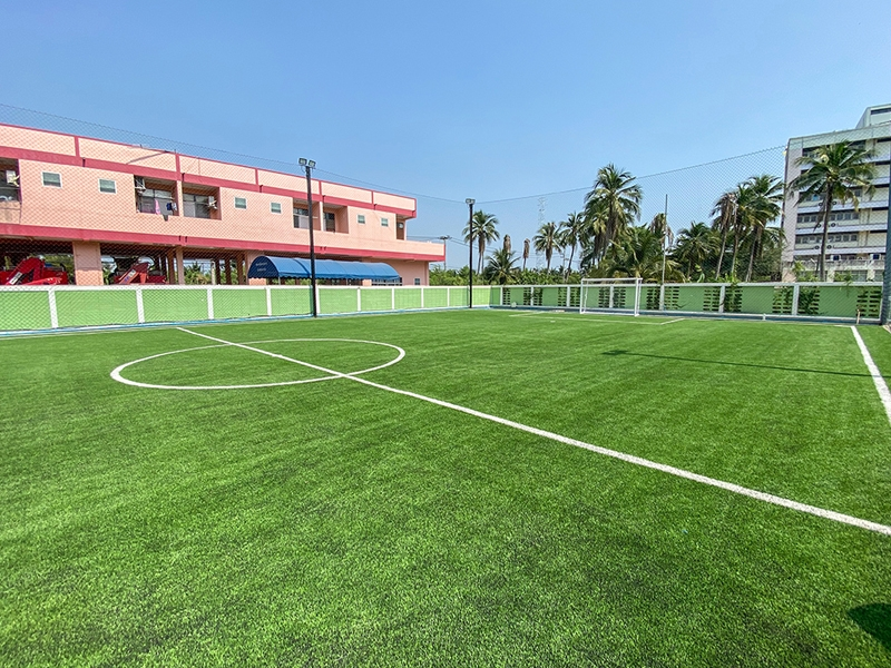 สนามฟุตบอล ศูนย์บริหารจัดการคุณภาพน้ำเทศบาลเมืองสามพราน
