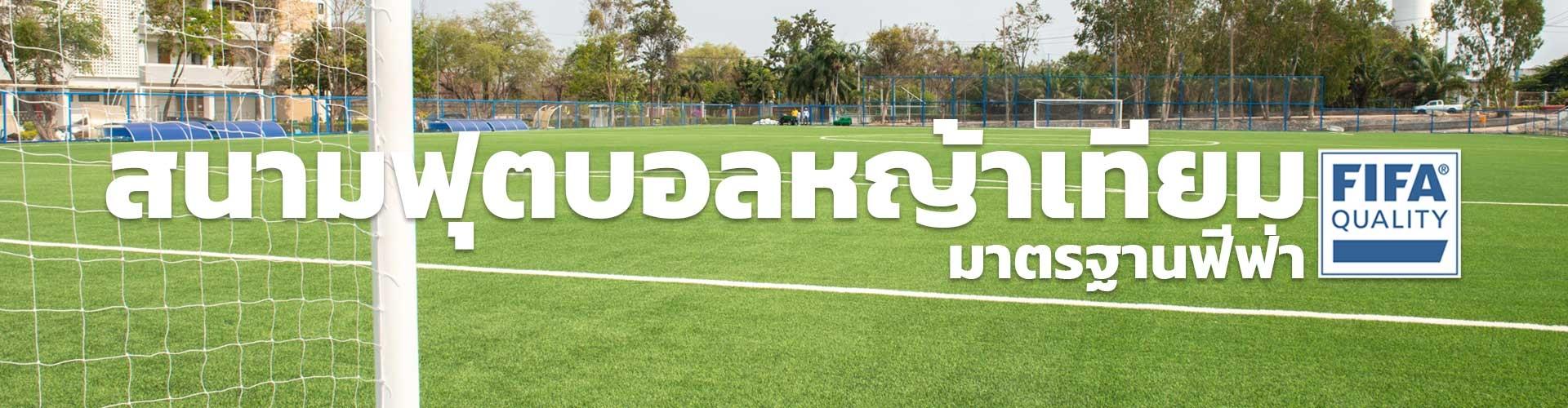 สนามฟุตบอลหญ้าเทียมมาตรฐานฟีฟ่า (Fifa Quality)