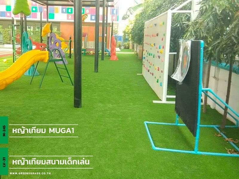 สนามเด็กเล่นหญ้าเทียม โรงเรียนนานาชาติรอยส์ รอยัล