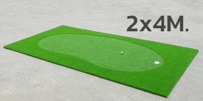 NEW! golf putting green 2x4m.