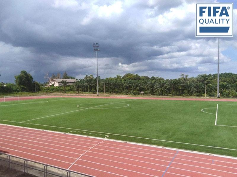 สนามฟุตบอลหญ้าเทียม มหาวิทยาลัยการกีฬาแห่งชาติ วิทยาเขตชุมพร