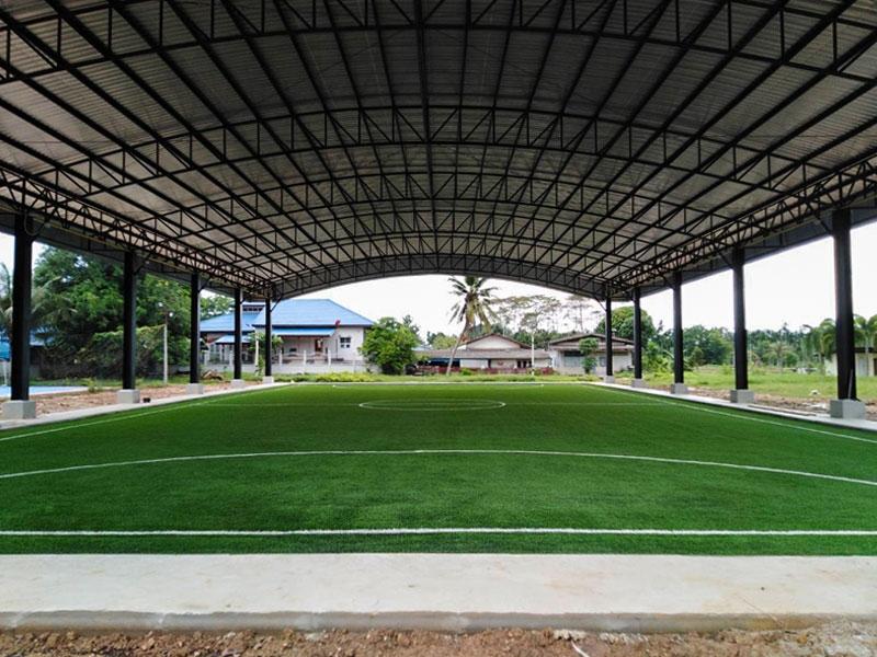 สนามฟุตบอลหญ้าเทียม เทศบาลตำบลมะขามเมืองใหม่