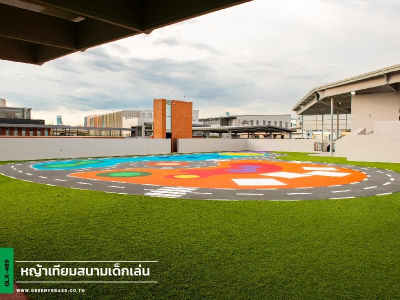 สนามเด็กเล่นหญ้าเทียม - โรงเรียนนานาชาติคิงส์คอลเลจกรุงเทพ