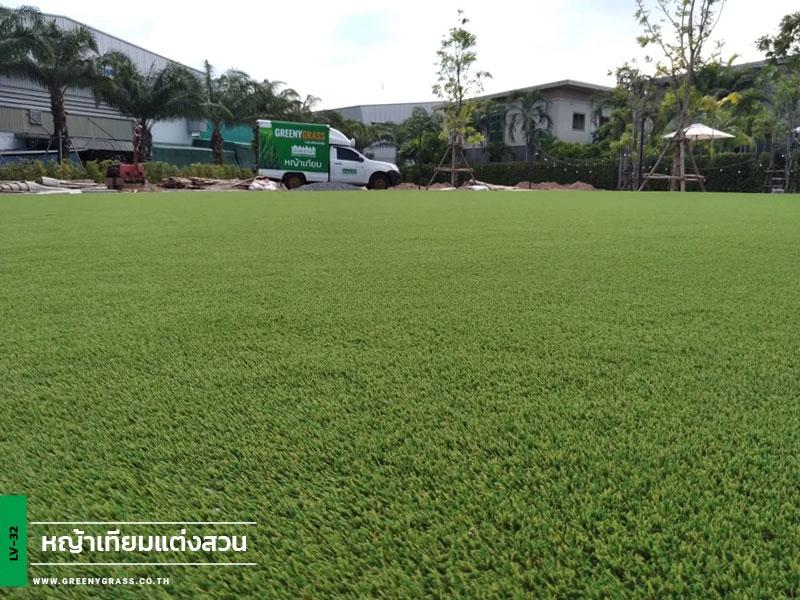 ติดตั้งหญ้าเทียม Morino Hotel Si Racha