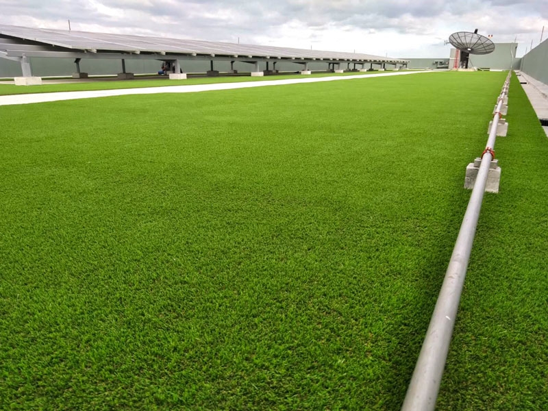 ดาดฟ้าหญ้าเทียม โครงการ นิช ไพรด์ เตาปูน-อินเตอร์เชนจ์