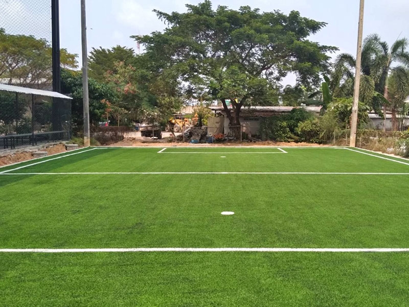 หญ้าเทียมสนามฟุตบอล Cilie Arena จ.ชลบุรี
