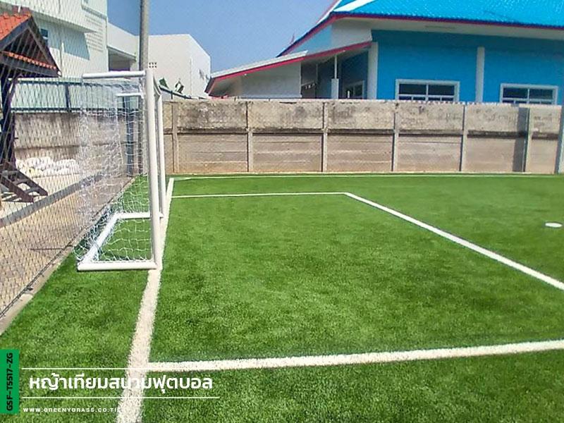 สนามฟุตบอลหญ้าเทียม โรงเรียนปริยัติรังสรรค์ จ.เพชรบุรี