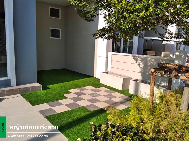 ติดตั้งหญ้าเทียม โครงการโกลเด้น ทาวน์ สุขสวัสดิ์ - พระราม 3