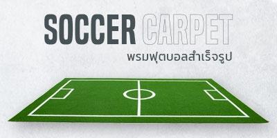 พรมฟุตบอลสำเร็จรูป Soccer Carpet 4x6