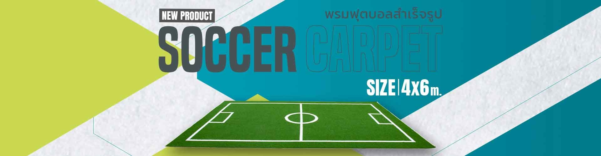 Soccer Carpet 4x6