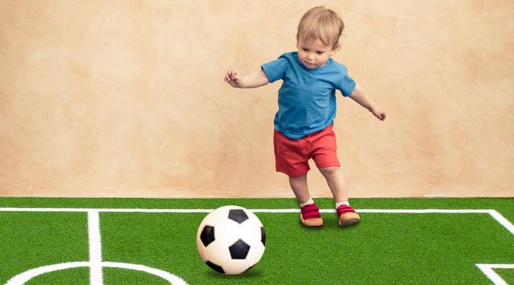 พรมฟุตบอลสำเร็จรูป Soccer Carpet 4x6 ม.