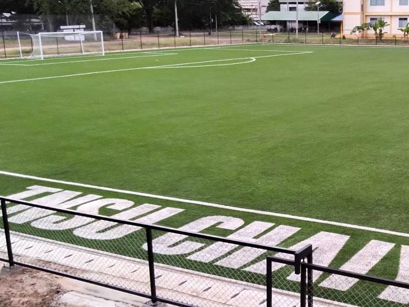 สนามฟุตบอลหญ้าเทียม มหาวิทยาลัยการกีฬาแห่งชาติ วิทยาเขตชัยภูมิ