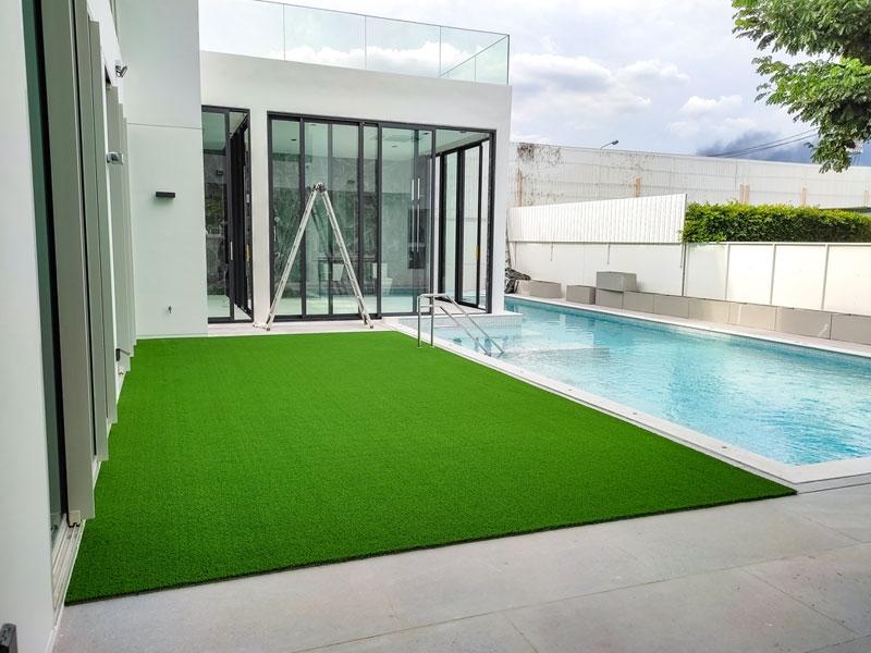 สวนหญ้าเทียมแห่งความสุข บ้านเดี่ยววีเว่ Vive บางนา