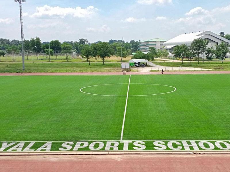 สนามฟุตบอลหญ้าเทียม โรงเรียนกีฬา จังหวัดยะลา