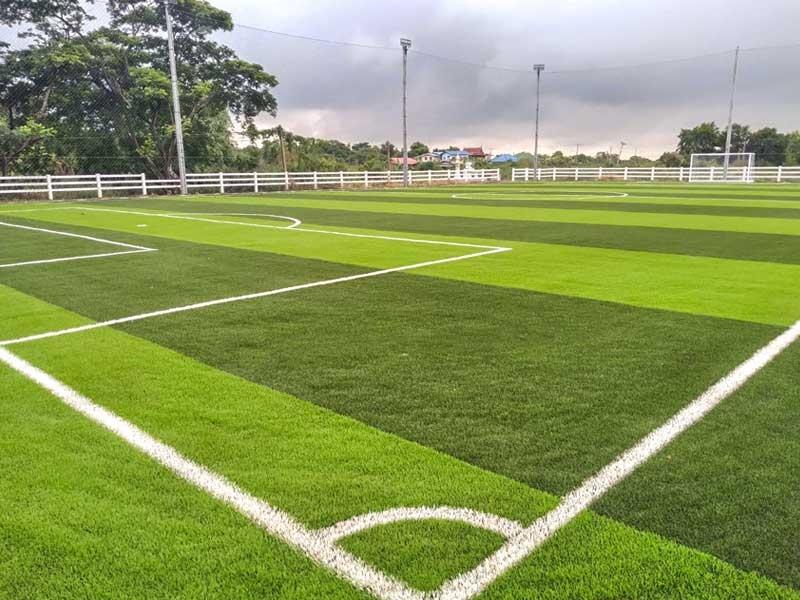 สนามฟุตบอลหญ้าเทียม อบต.บ้านช้าง จ.พระนครศรีอยุธยา